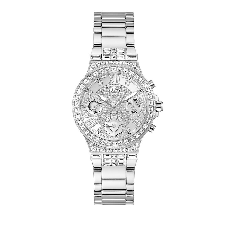 watches, Guess, Ladies Watch Moonlight Silver