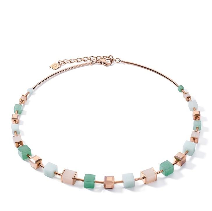 necklaces, COEUR DE LION, Necklace Green-Beige