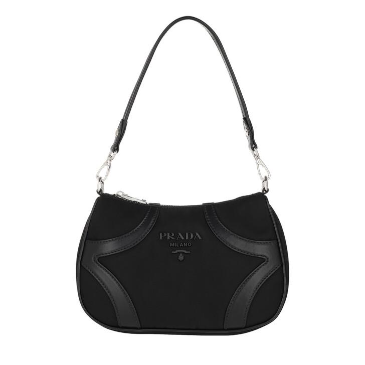 Handtasche, Prada, Shoulder Bag Nylon Black