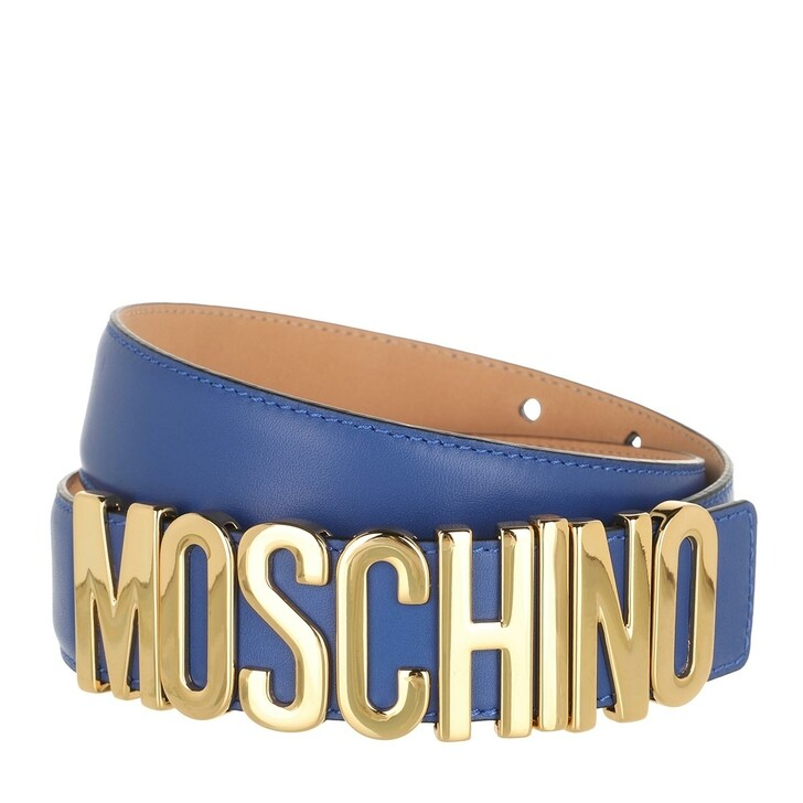 Gürtel, Moschino, Belt Blu