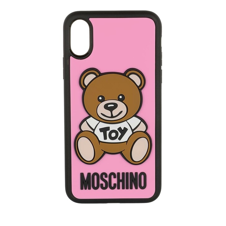 Smartphone/Tablet case (Case), Moschino, iPhone Cover Toy X/XS Fantasia Rosa