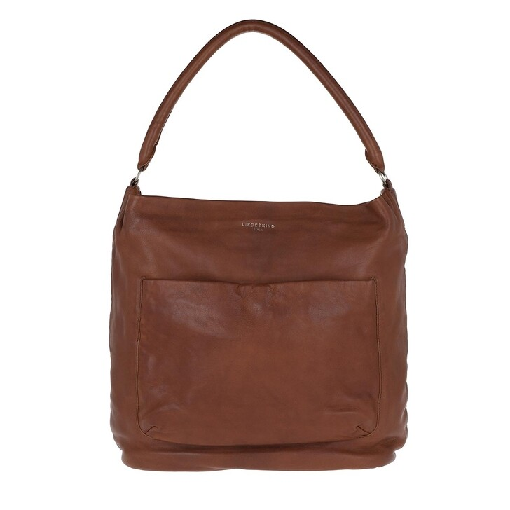 Handtasche, Liebeskind Berlin, Vegetable Vintage Hobo Bag Medium Brown