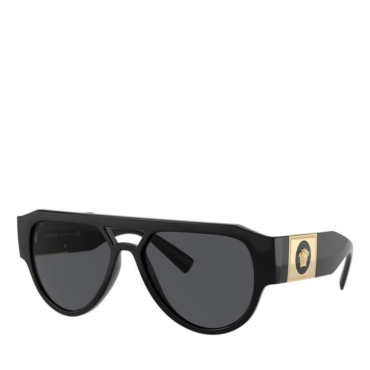 Sonnenbrille, Versace, SPRITZGUSS MAN SONNE BLACK