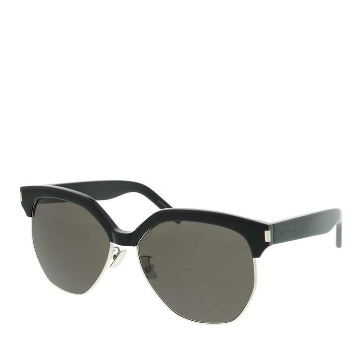 sunglasses, Saint Laurent, SL 408-002 59 Sunglass WOMAN ACETATE Black