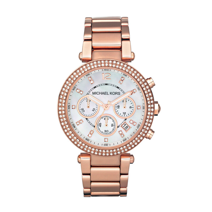 Uhr, Michael Kors, MK5491 Parker Watch Rose Gold-Tone