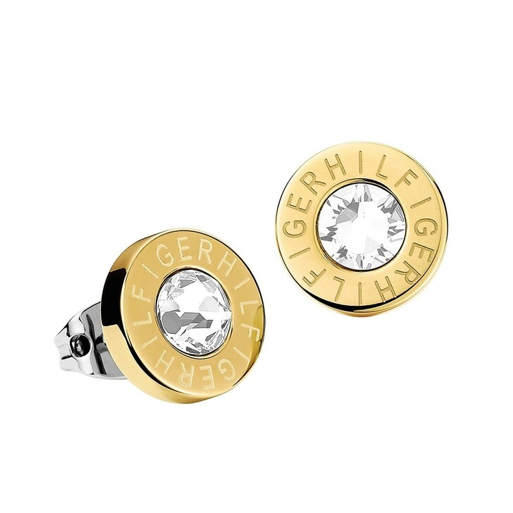 Ohrring, Tommy Hilfiger, Classic Signature Stud Gold