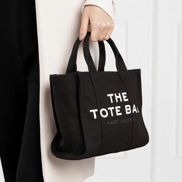 The Mini Traveller Tote Bag Black
