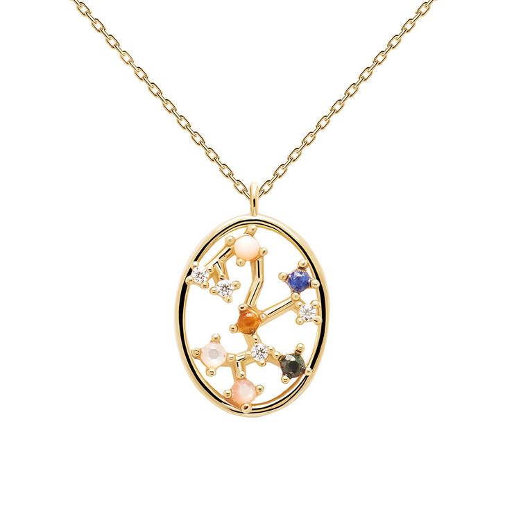 Kette, PDPAOLA, Necklace SAGITTARIUS Yellow Gold