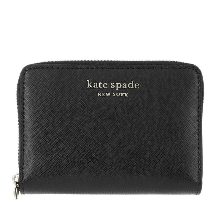 wallets, Kate Spade New York, Zip Card Case Black
