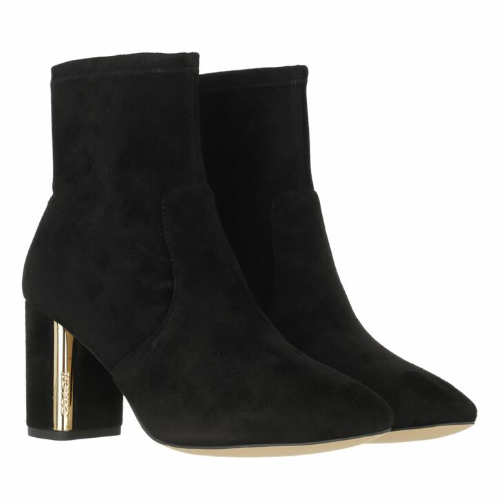 shoes, Coach, Margot Suede Bootie