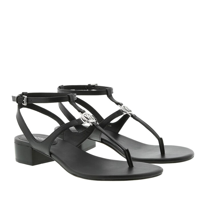 Schuh, MICHAEL Michael Kors, Vachetta Stacked Sandals Black