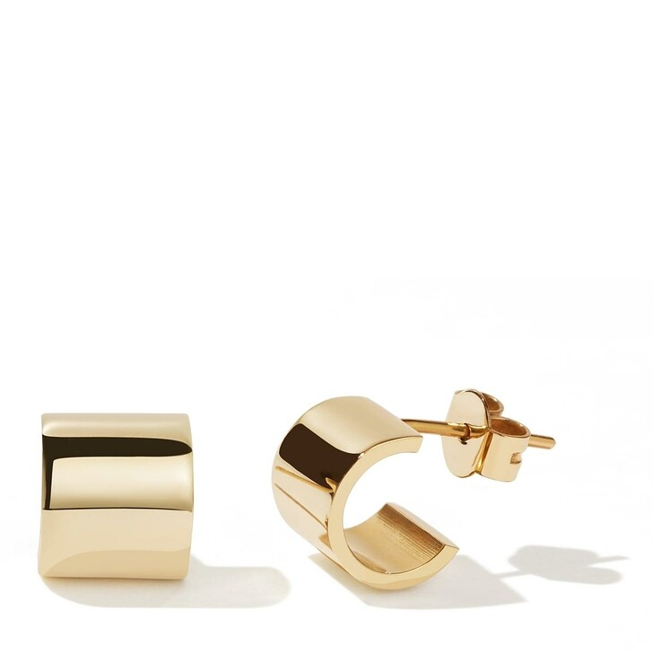 earrings, Meadowlark, Cuff Stud Earrings Gold Plated
