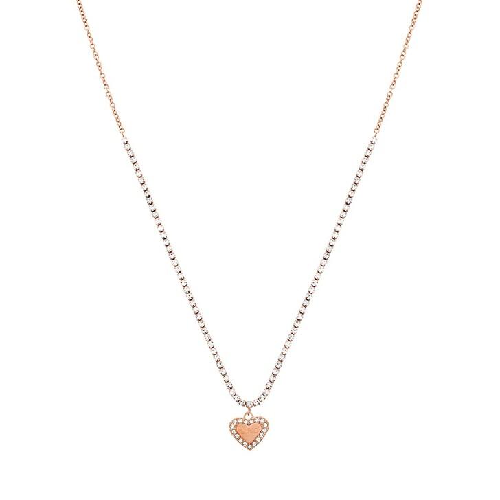 Kette, LIU JO, CHOKER NECKLACE BRILLIANT Rose Gold