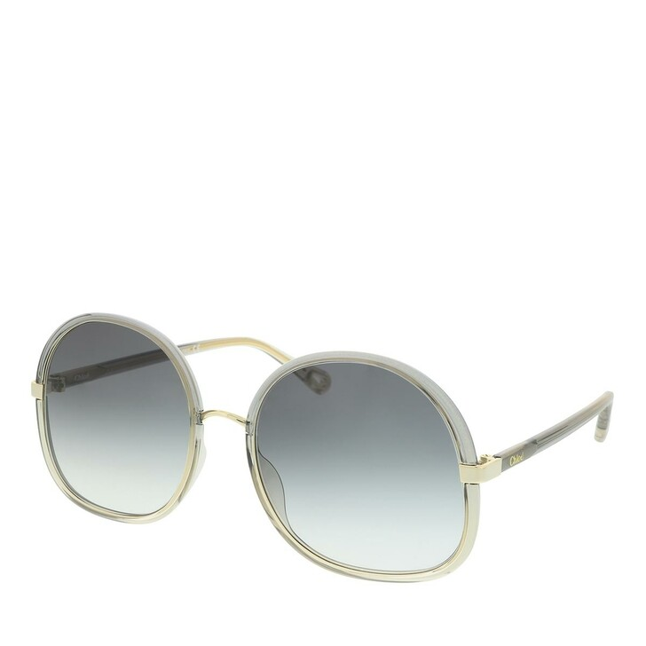 Sonnenbrille, Chloé, Sunglass WOMAN INJECTION GREY-GREY-GREY