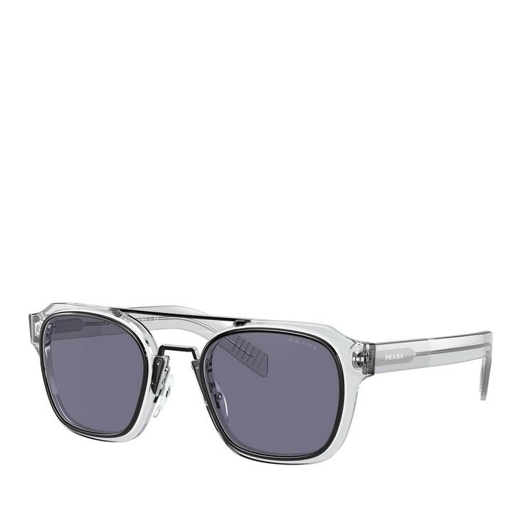Sonnenbrille, Prada, AZETAT MAN SONNE BLACK/WHITE/GREY