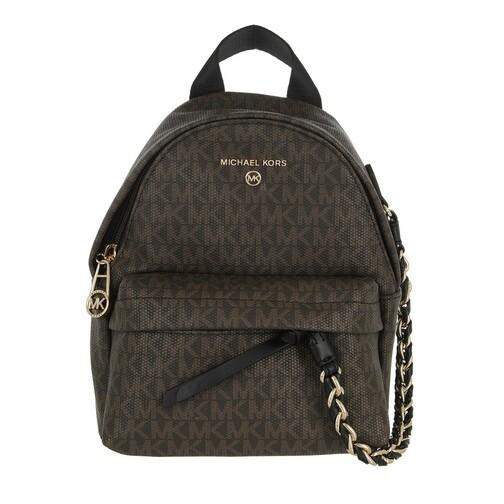 michael kors -  Rucksack - Xs Cnv Messenger Backpack - in braun - für Damen
