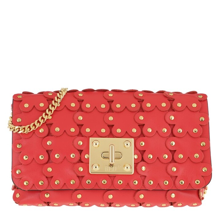 bags, Red Valentino, Clutch Coral