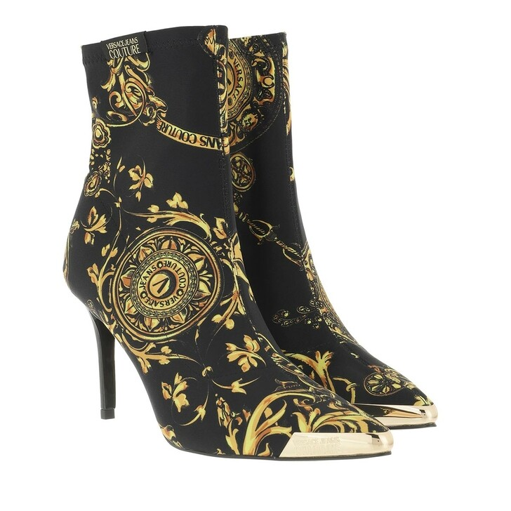 shoes, Versace Jeans Couture, Boots Black/Gold