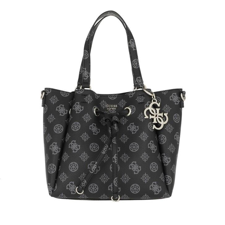 Handtasche, Guess, Digital Drawstring Bag Black