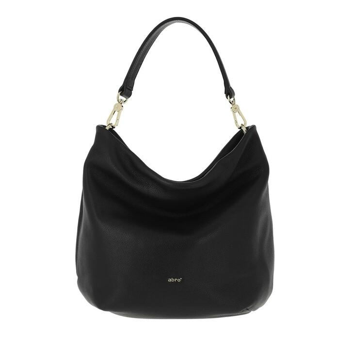 bags, Abro, Bucket LOU small  Black/Gold