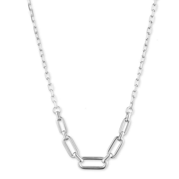 Kette, Lauren Ralph Lauren, NK Link Frontal Necklace Silver