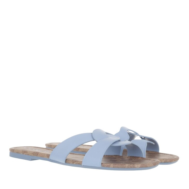 Schuh, Coach, Essie Leather Sandal Periwinkle