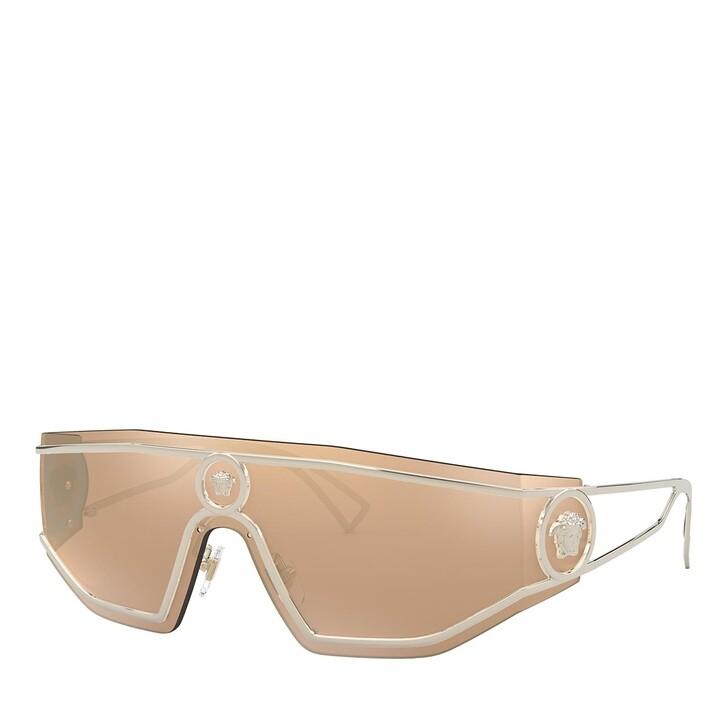 Sonnenbrille, Versace, 0VE2226 PALE GOLD