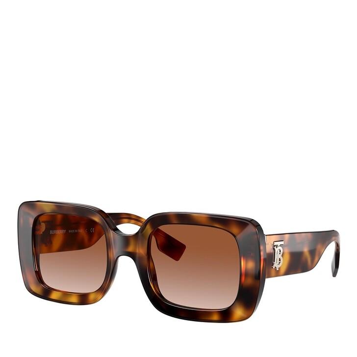 Sonnenbrille, Burberry, 0BE4327 LIGHT HAVANA