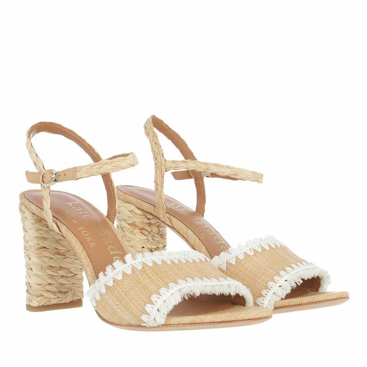 Schuh, Kate Spade New York, Olivia Heel  Natural/Parchment