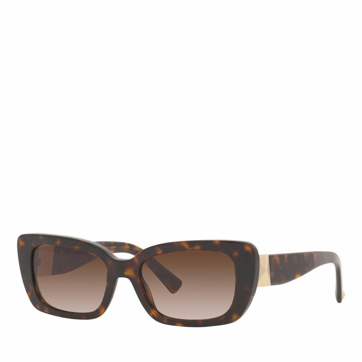 sunglasses, Valentino Garavani, Woman Sunglasses 0VA4096 Havana