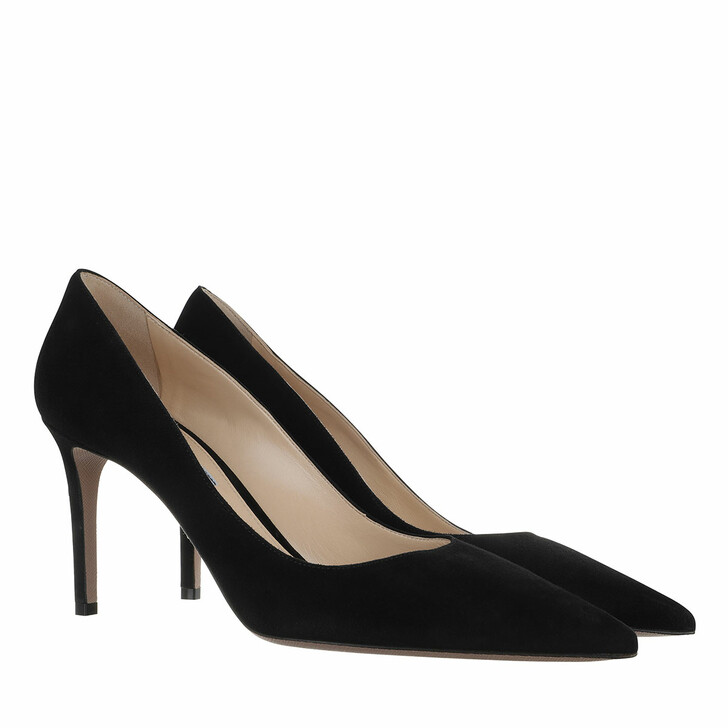 Schuh, Prada, Decollete Pumps Leather Black
