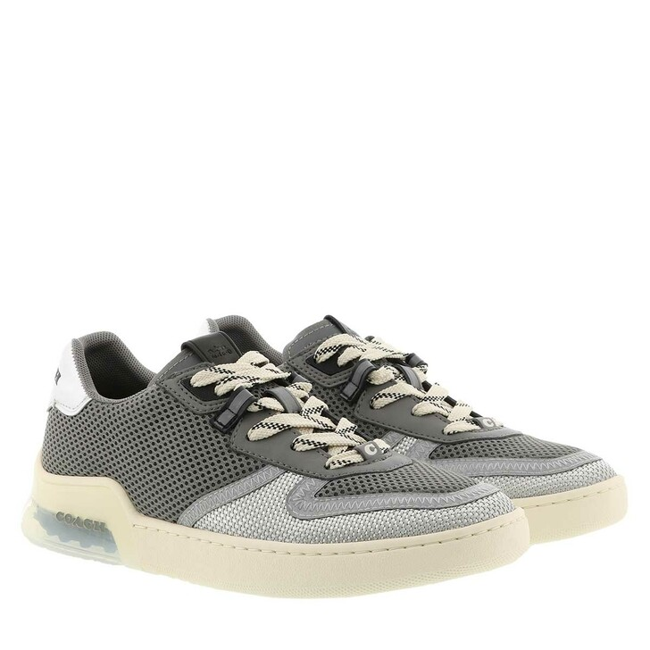 Schuh, Coach, Citysole Court Mesh Silver