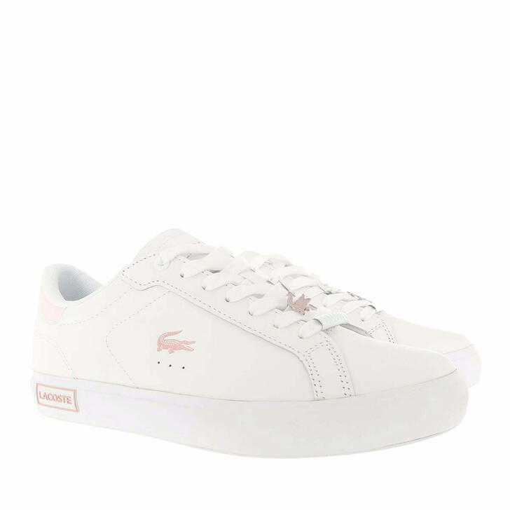 Schuh, Lacoste, Powercourt Sneaker White Light Pink