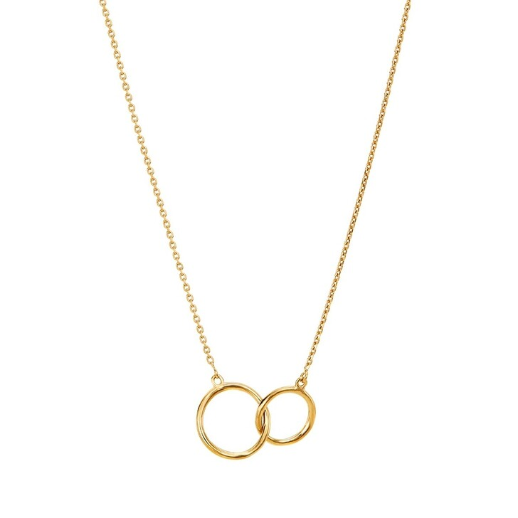 Kette, BELORO, Necklace Rings Yellow Gold
