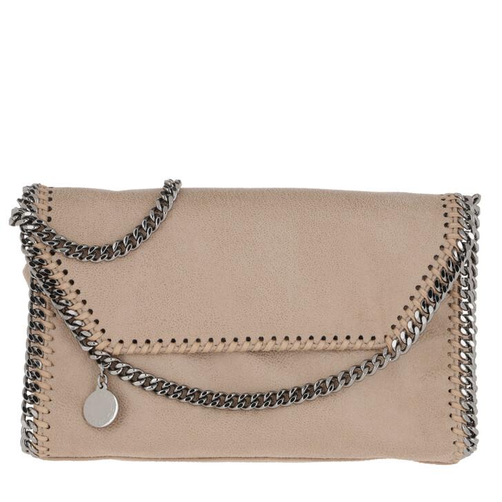 bags, Stella McCartney, Falabella Shaggy Deer Mini Shoulder Bag Navy Clotted Cream