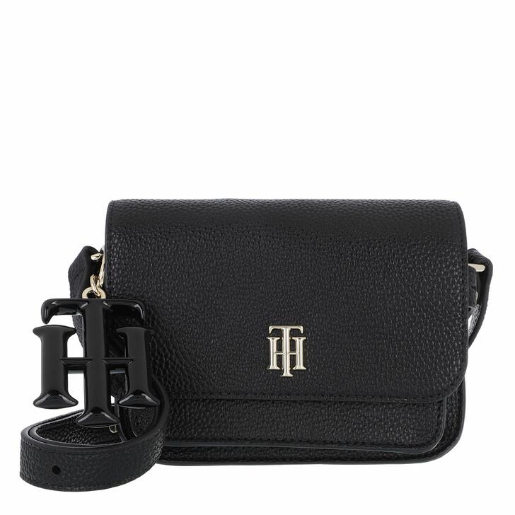 Handtasche, Tommy Hilfiger, TH Soft Mini Crossbody Bag Black