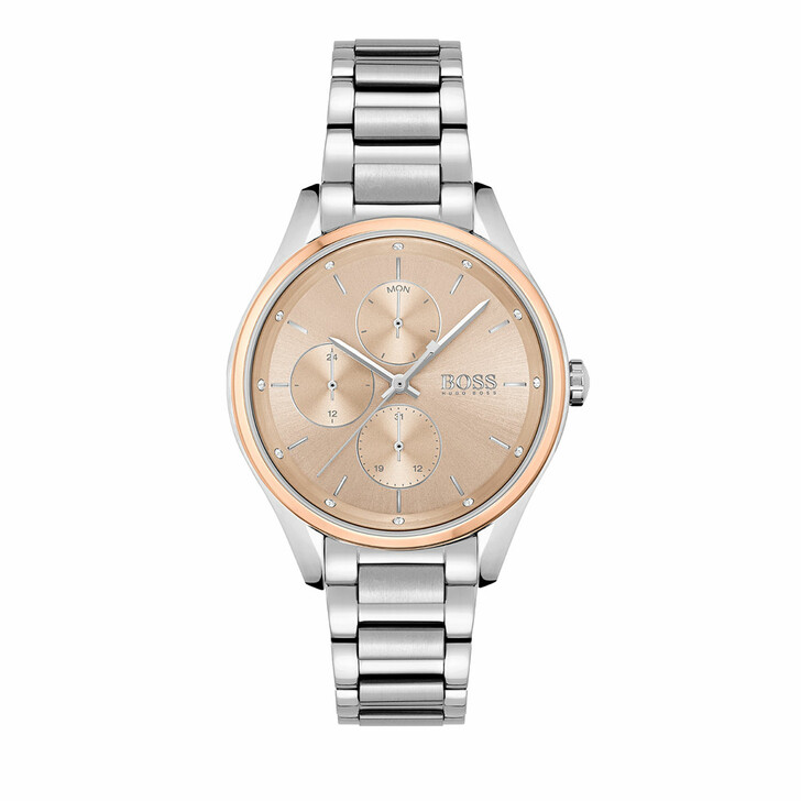 watches, Boss, Watch Grand Course Silver