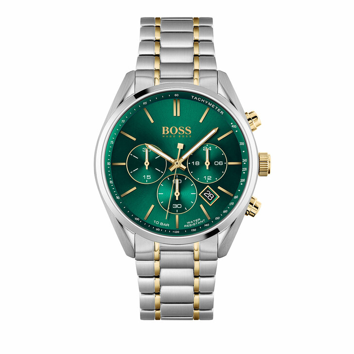 watches, Boss, Watch Champion Bicolor Green