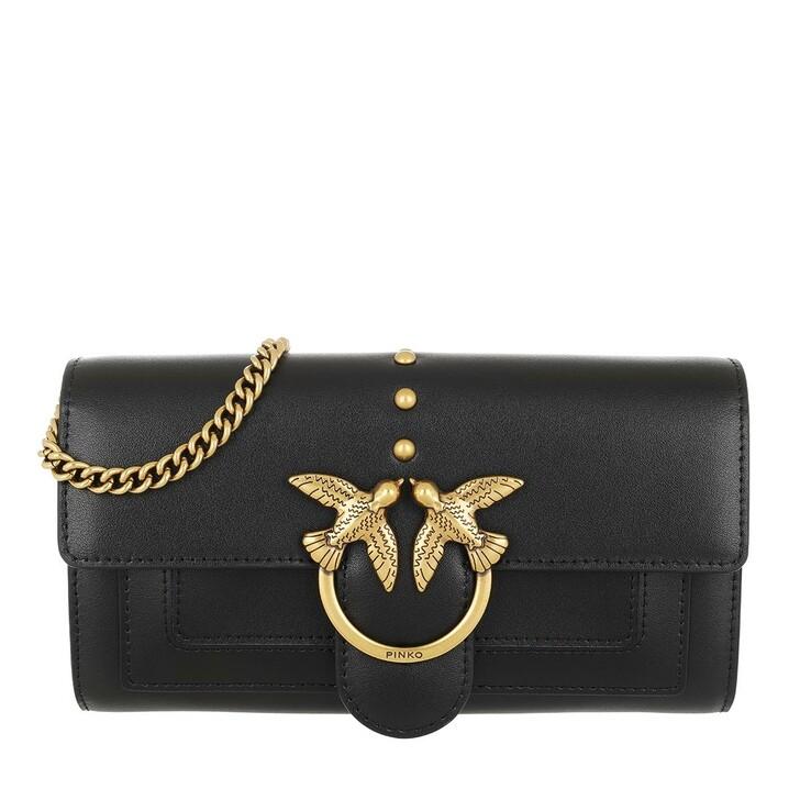 Geldbörse, Pinko, Love Simply Vitello Wallet Black