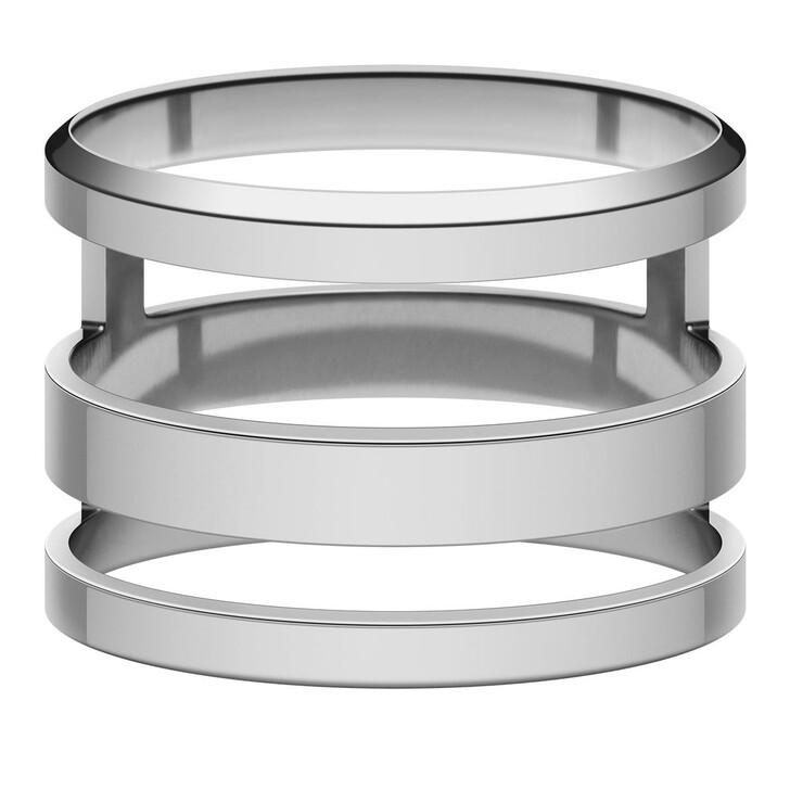 rings, Daniel Wellington, Elan Triad Ring Silver