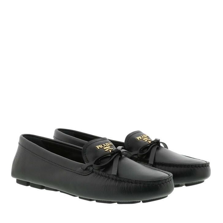 Schuh, Prada, Loafer Leather Black