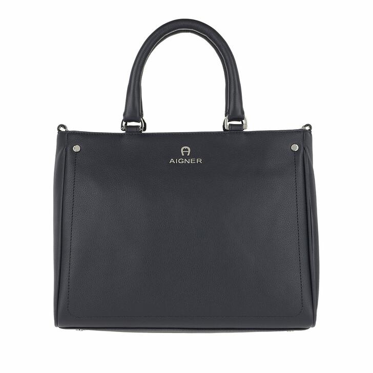 Handtasche, AIGNER, Ava Handle Bag Ink