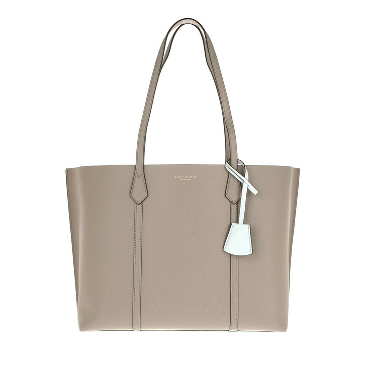 Handtasche, Tory Burch, Perry Triple-Compartment Tote Gray Heron