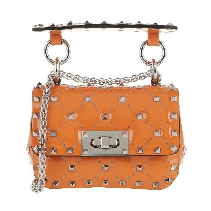 bags, Valentino Garavani, Rockstud Crossbody Bag Pale Apricot Rose Cannelle