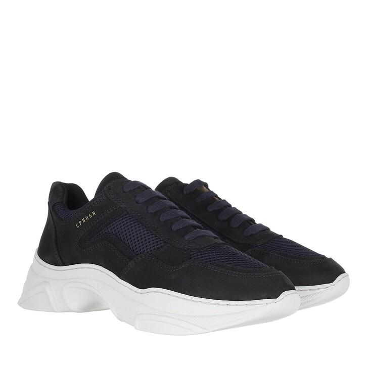 Schuh, Copenhagen, Sneakers Nubuk Night Blue