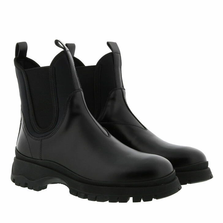 Schuh, Prada, Shoes Leather Black
