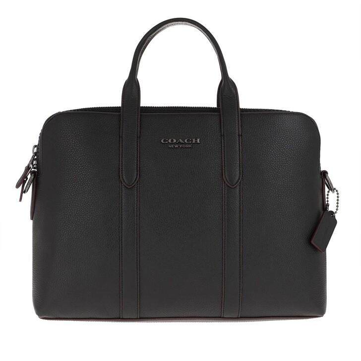 Handtasche, Coach, Metropolitan Soft Brief Cew Qb/Black