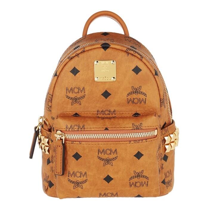 Reisetasche, MCM, Stark Backpack Xmn  Cognac