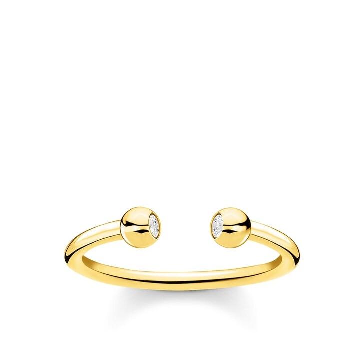 Ring, Thomas Sabo, Ring Globes Pearl White