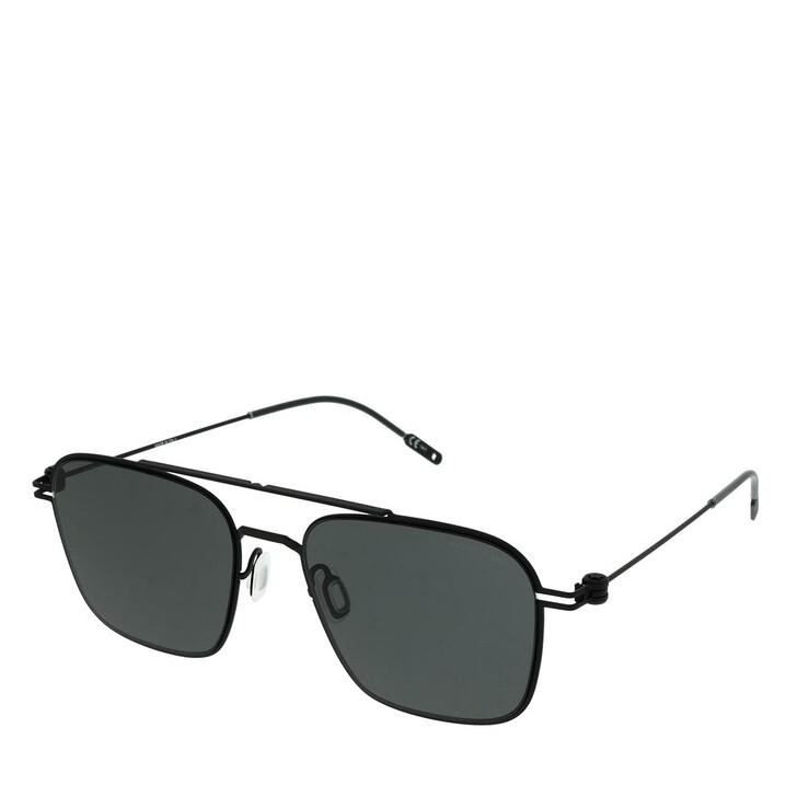Sonnenbrille, Montblanc, MB0050S-006 54 Man Metal Black-Black-Grey